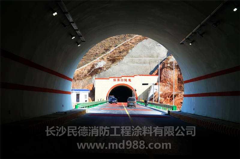 湖北郧十高速隧道1